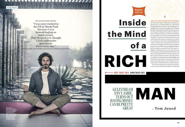 Article Preview: Inside the Mind of a Rich Man, APRIL 2016 2016 | Esquire