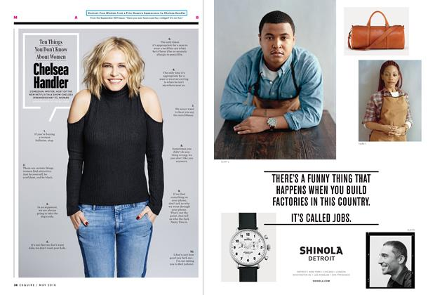 Article Preview: Chelsea Handler, MAY 2016 2016 | Esquire