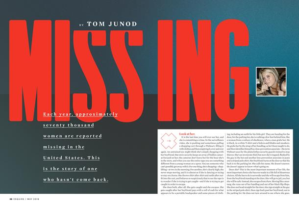 Article Preview: Missing, May 2016 | Esquire