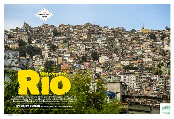 Article Preview: Welcome to Rio, May 2016 | Esquire