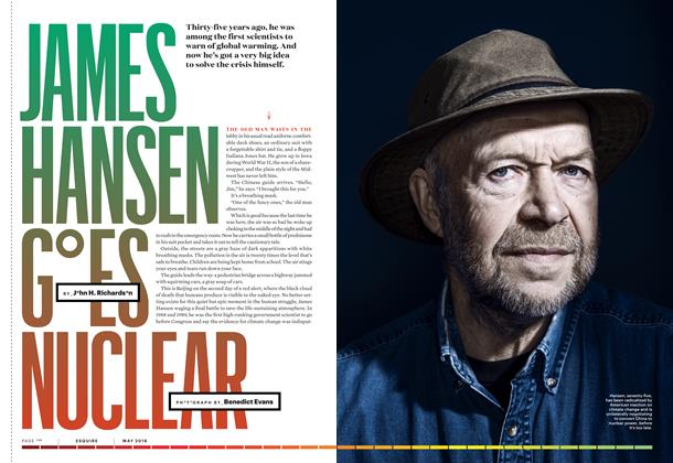 Article Preview: James Hansen Goes Nuclear, May 2016 | Esquire