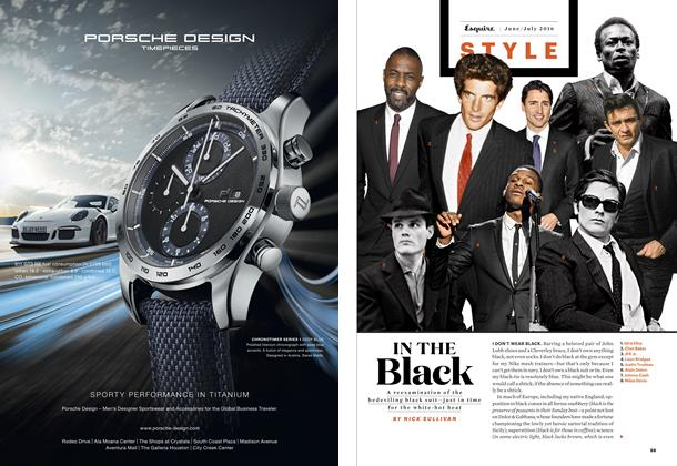 Article Preview: In the Black, JUNE/JULY '16 2016   Esquire
