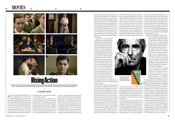 Article Preview: Rising Action, AUGUST '16 2016 | Esquire