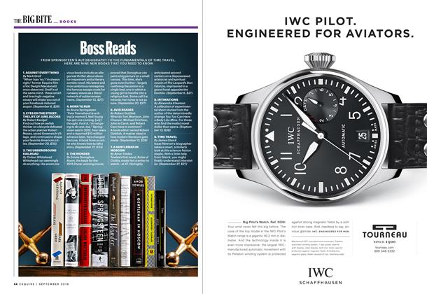 Article Preview: Boss Reads, SEPTEMBER '16 2016 | Esquire