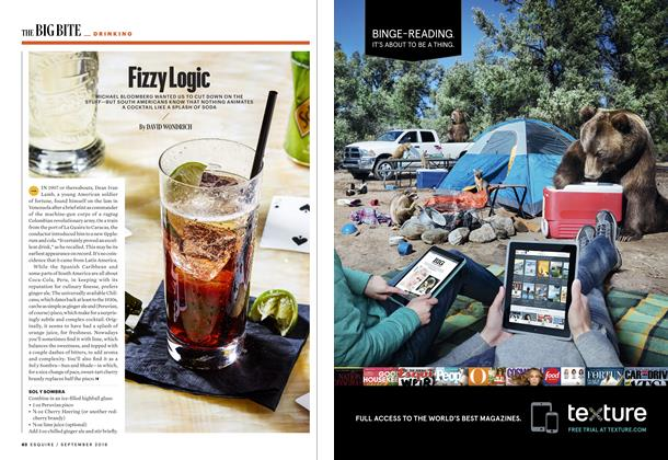 Article Preview: Fizzy Logic, SEPTEMBER '16 2016 | Esquire