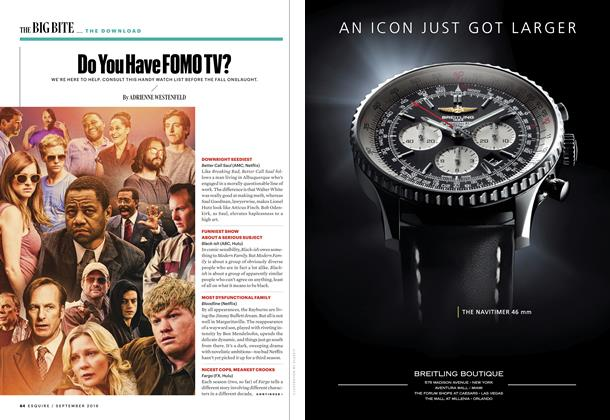 Article Preview: Do You Have FOMO TV?, SEPTEMBER '16 2016 | Esquire