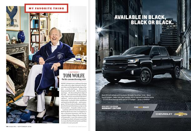 Article Preview: Tom Wolfe, SEPTEMBER '16 2016   Esquire