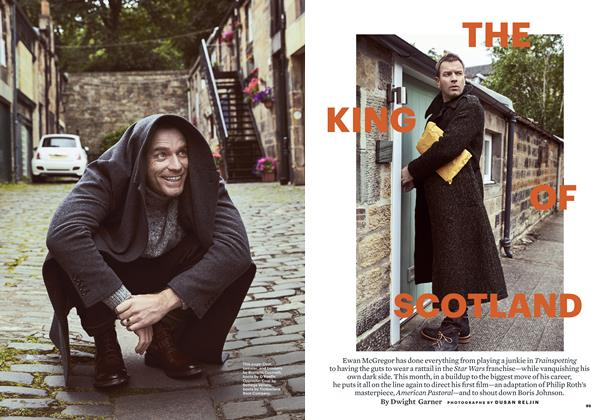 Article Preview: The King of Scotland, OCTOBER 2016 | Esquire