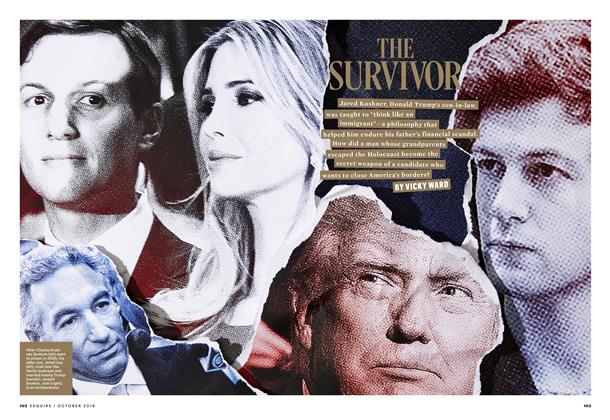 Article Preview: The Survivor, OCTOBER '16 2016 | Esquire