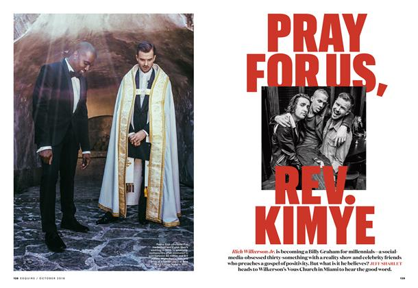 Article Preview: Pray for Us, Rev. Kimye, OCTOBER '16 2016 | Esquire