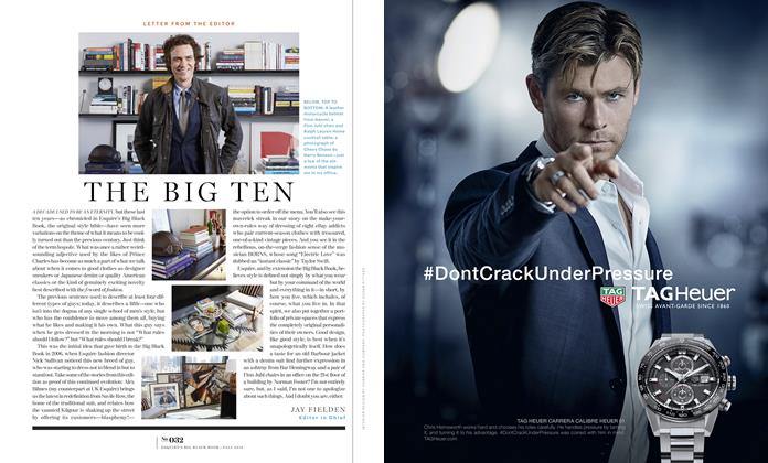 Article Preview: The Big Ten, FALL/WINTER 2016 2016   Esquire