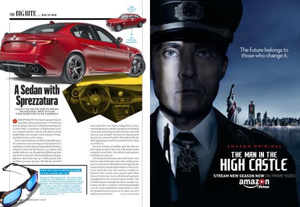 Article Preview: A Sedan with Sprezzatura, FEBRUARY 2017 2017 | Esquire