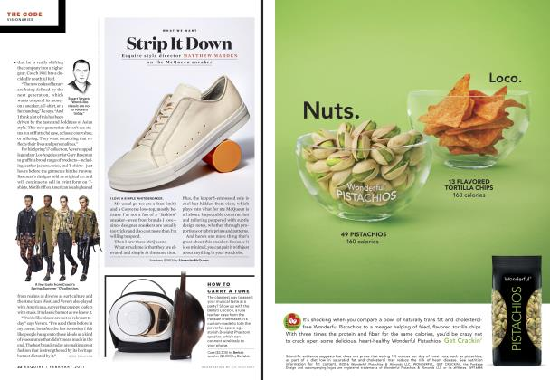 Article Preview: Strip It Down, FEBRUARY 2017 2017   Esquire