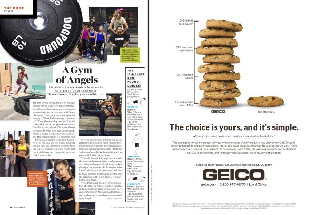 Article Preview: A Gym of Angels, February 2017 | Esquire