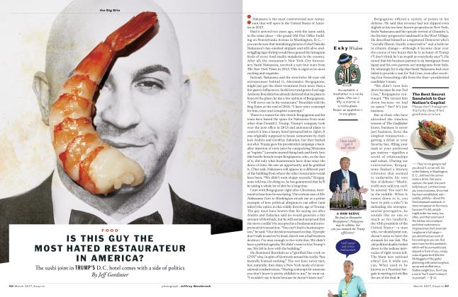 Article Preview: Is This Guy the Most Hated Restaurateur in America? , MARCH '17 2017 | Esquire