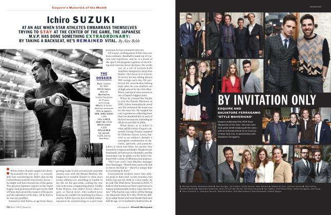 Article Preview: Ichiro Suzuki, APRIL '17 2017 | Esquire