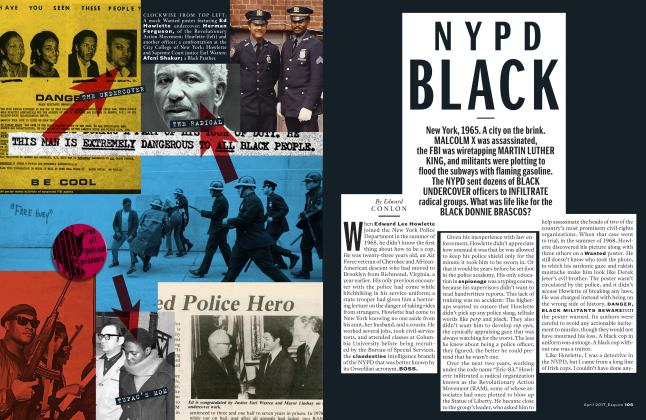 Article Preview: NYPD Black, APRIL 2017 | Esquire