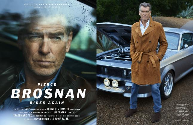 Pierce Brosnan Rides Again