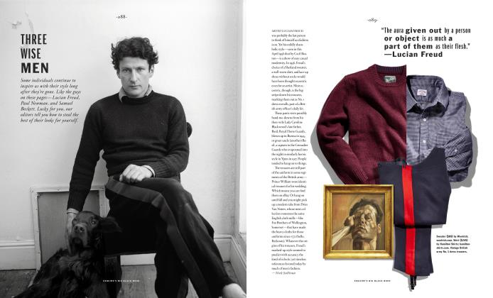 Article Preview: Three Wise Men, SPRING/SUMMER 2017 2017 | Esquire