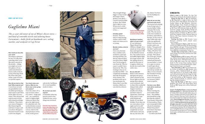 Article Preview: Guglielmo Miani, SPRING/SUMMER 2017 2017 | Esquire