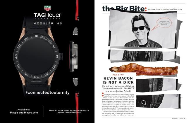 Article Preview: Kevin Bacon is not a Dick, MAY 2017 2017 | Esquire