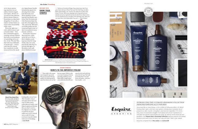 Article Preview: Here's to the Imperfect Polish, MAY 2017 2017 | Esquire