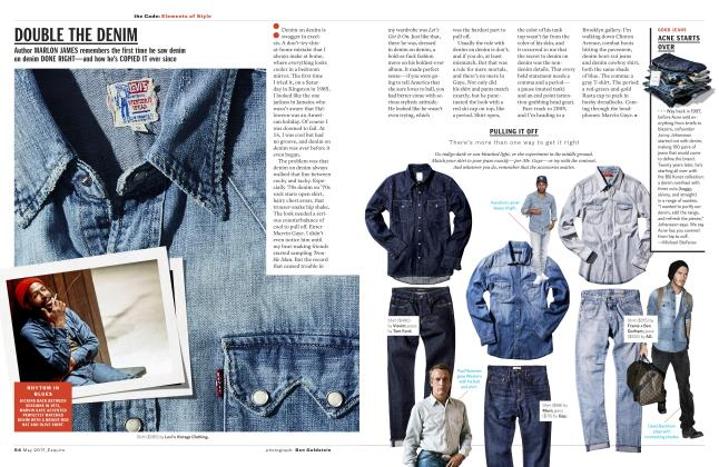 Article Preview: Double the Denim, MAY 2017 2017   Esquire