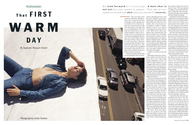 Article Preview: That First Warm Day, MAY 2017 2017 | Esquire