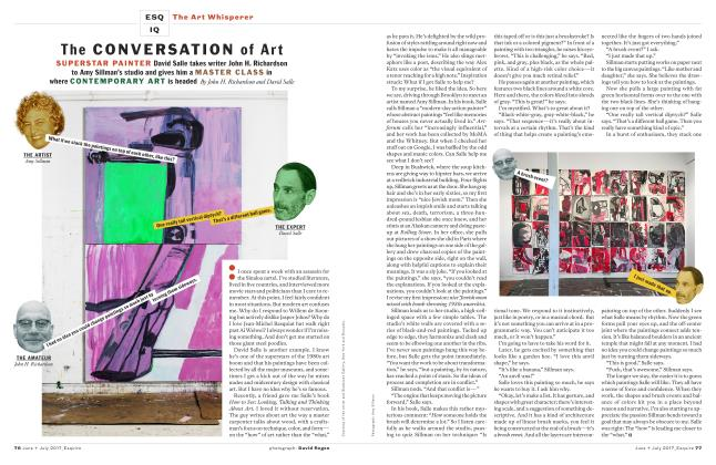 Article Preview: The Conversation of Art, JUNE + JULY '17 2017 | Esquire