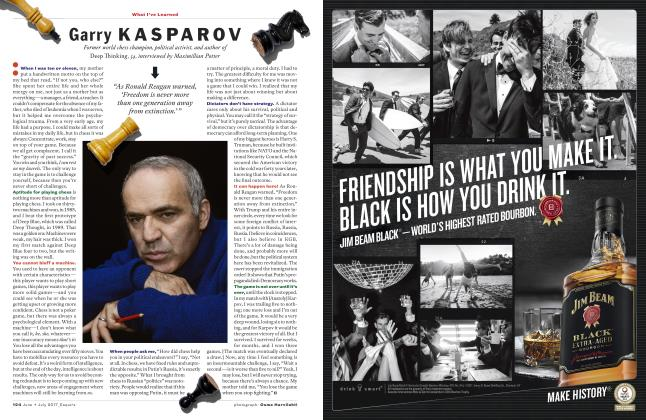 Article Preview: Garry Kasparov, JUNE + JULY '17 2017   Esquire