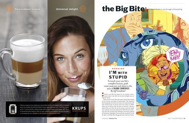 Article Preview: I'm With Stupid, JUNE / JULY 2017 | Esquire