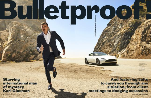 Article Preview: Bulletproof!, August 2017 2017   Esquire