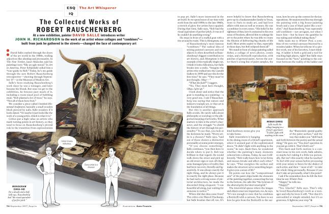 Article Preview: The Collected Works of Robert Rauschenberg, September 2017   Esquire