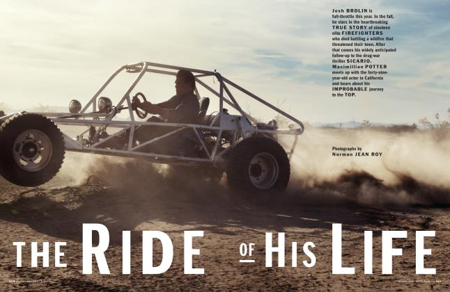 Article Preview: The Ride of his Life, September 2017   Esquire