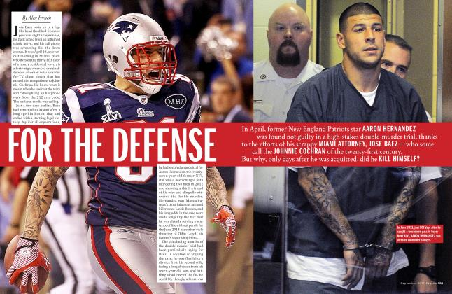 Article Preview: For the Defense, September 2017   Esquire