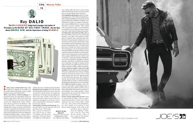 Article Preview: Ray Dalio, OCTOBER '17 2017 | Esquire