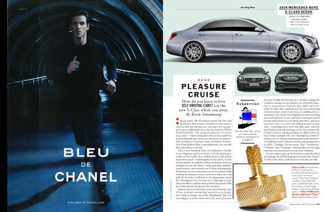 Article Preview: Pleasure Cruise, NOVEMBER '17 2017   Esquire