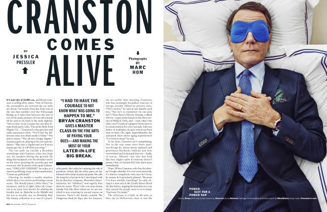 Article Preview: Cranston Comes Alive, NOVEMBER '17 2017 | Esquire
