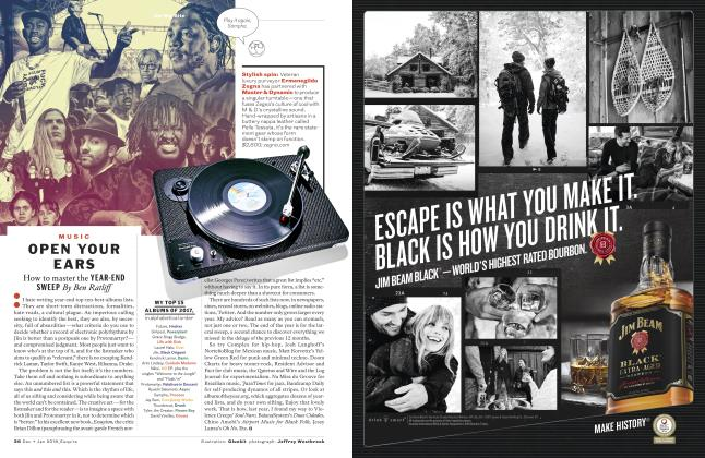 Article Preview: Open Your Ears, DECEMBER/JANUARY '18 2017 | Esquire