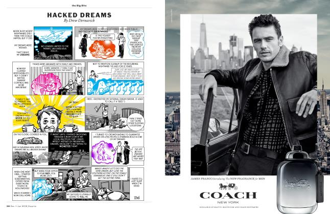 Article Preview: Hacked Dreams, DECEMBER/JANUARY '18 2017 | Esquire
