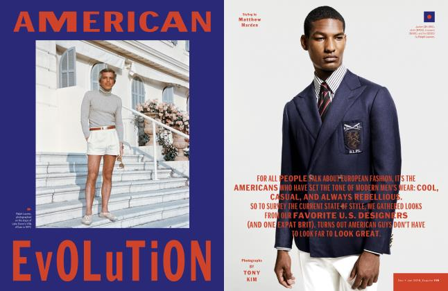 Article Preview: American Evolution, DECEMBER/JANUARY '18 2017 | Esquire