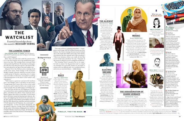 Article Preview: The Watchlist, WINTER '18 2018 | Esquire