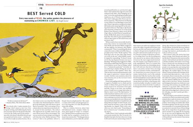 Article Preview: Best Served Cold, WINTER '18 2018 | Esquire