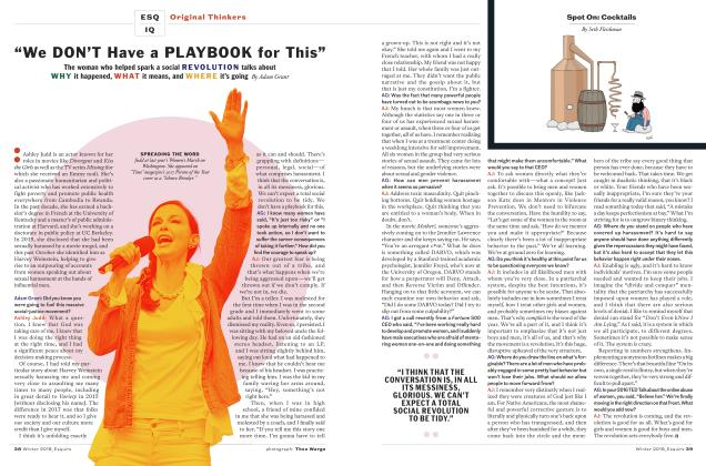 """Article Preview: """"We Don't Have a Playbook for This"""", WINTER '18 2018 