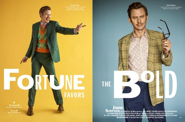 Article Preview: Fortune Favors the Bold, WINTER '18 2018   Esquire