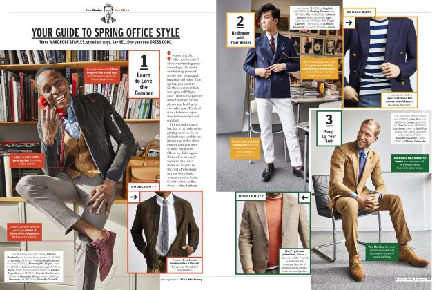 YOUR GUIDE TO SPRING OFFICE STYLE