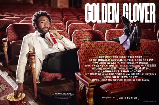 GOLDEN GLOVER
