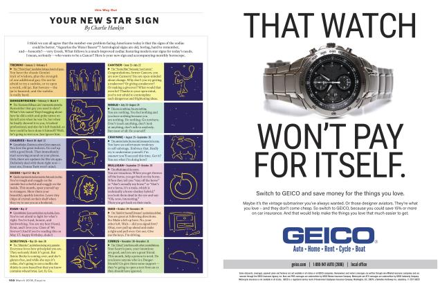 Article Preview: YOUR NEW STAR SIGN, MARCH '18 2018 | Esquire