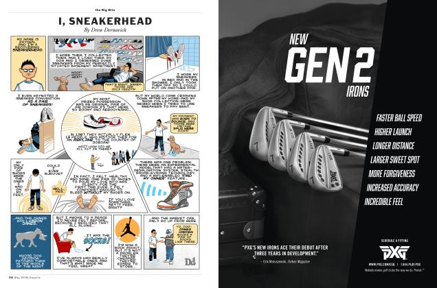 Article Preview: I, SNEAKERHEAD, MAY '18 2018 | Esquire
