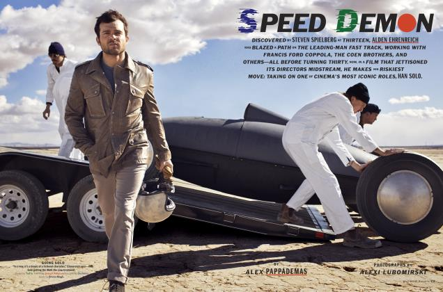 Article Preview: Speed Demon, May 2018 | Esquire